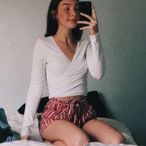 aeo paper bag shorts ⚡️
